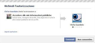 """Bufala su Facebook: applicazione """"Chi ha guardato"""""""