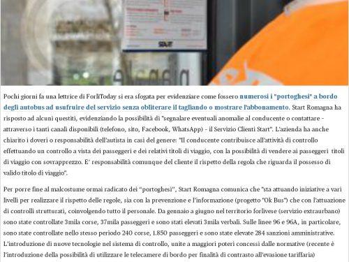 Start Romagna risponde