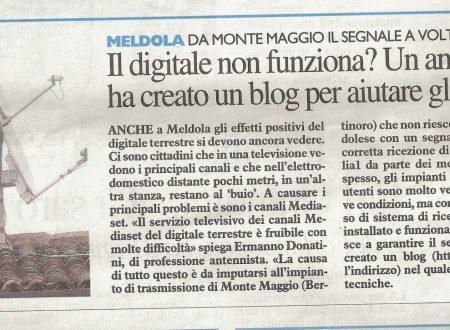 Il Resto del Carlino del 25/10/2013 , edizione Forli , a pagina 10