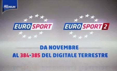 Eurosport: esclusiva su Mediaset Premium da Febbraio