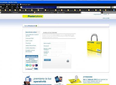 Phishing: scovato server truffaldino …